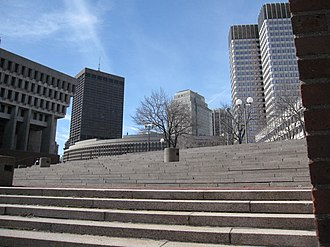 John F. Kennedy Federal Building - Image: 2010 Govt Center Boston 3