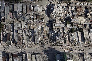 Port-au-Prince Arrondissement - Downtown Port-au-Prince after the quake