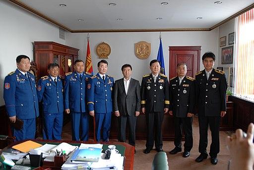 2011년 6월 제24대 서울소방재난본부장 최웅길 몽골 울란바토르 소방국 방문 (Emergency Management Department of Ulaanbaatar) CHA 6026