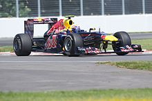 Photo de la Red Bull RB7.