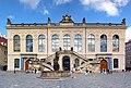 20120827050MDR Dresden Neumarkt Stallhof Friedensbrunnen.jpg