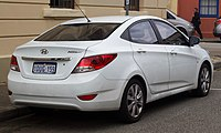 2012 Hyundai Accent (RB) Premium sedan (2018-10-01) 02.jpg