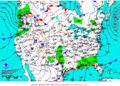 2013-02-25 Surface Weather Map NOAA.png