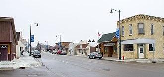 Brooten, Minnesota - Downtown Brooten