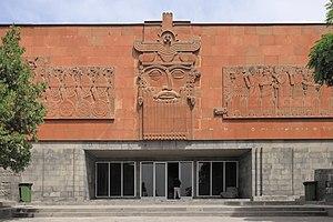 Erebuni Museum - Image: 2014 Erywań, Erebuni, Muzeum Erebuni, Budynek muzeum (02)