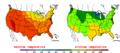 2015-07-01 Color Max-min Temperature Map NOAA.png