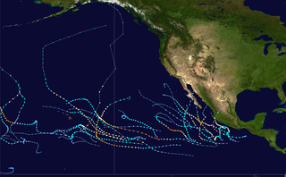 2015 Pacific hurricane season Second-most active Pacific hurricane season, Period of formation of tropical cyclones in the Eastern Pacific Ocean in 2015