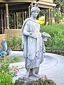 2017.07.30-Winchester Mystery House Statue Close up NRHP Reference No 74000559.jpg