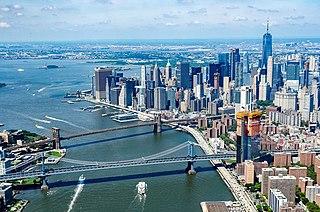 Two Bridges, Manhattan Neighborhood of Manhattan in New York City