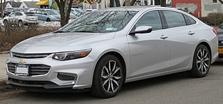 Chevrolet Malibu Mid-size car manufactured by Chevrolet