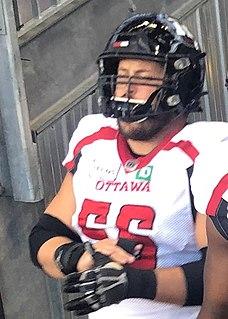 Alex Mateas Former Canadian football offensive lineman