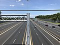 2019-07-15 14 52 56 View north along Interstate 95 (John F. Kennedy Memorial Highway) from the overpass for Maryland State Route 588 (Kenwood Avenue) in Rosedale, Baltimore County, Maryland.jpg