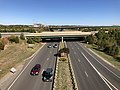 2019-10-18 14 41 29 View north along Virginia State Route 28 (Nokesville Road) from the ramp connecting northbound Virginia State Route 28 to northbound Virginia State Route 234 (Prince William Parkway) in Manassas, Virginia.jpg