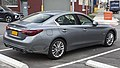 2019 Infiniti Q50 3.0t Luxe AWD in Graphite Shadow, rear right.jpg
