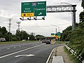 2020-08-03 16 50 12 View west along Maryland State Route 150 (Eastern Avenue-Boulevard) at the exit for Interstate 695 NORTH (Towson) in Dundalk, Baltimore County, Maryland.jpg