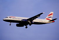 G-EUUG - A320 - British Airways