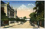 20893-Großenhain-1918-Bahnhofstraße und Cottbuser Bahnhof-Brück & Sohn Kunstverlag.jpg