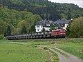 233 458 mit Militärzug in Falkenau - panoramio.jpg
