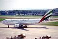 27ba - Emirates Airbus A310-308; A6-EKJ@ZRH;04.07.1998 (5619038974).jpg