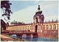 29677-Dresden-1959-Zwinger - Kronentor, Wallgraben und Brücke-Brück & Sohn Kunstverlag.jpg