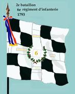 2e bataillon 6e rég inf 1793