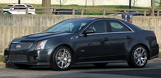 Cadillac CTS-V high-performance version of the standard CTS