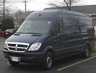 M-segment - Mercedes Sprinter, in its Dodge rebadging