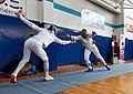 2nd Leonidas Pirgos Fencing Tournament. Touch for the fencer Ioannis Filippousis.jpg