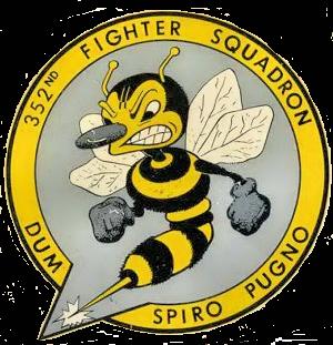 352d Tactical Fighter Squadron - Image: 352d Fighter Squadron Emblem