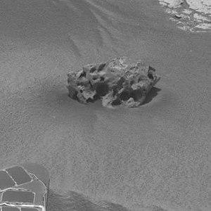 Shelter Island meteorite - Shelter Island meteorite - close-up (October 1, 2009).