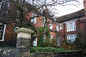 George Boole - Boole's House and School at 3 Pottergate in Lincoln