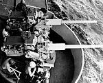 3in Mk 33 mount on USS Midway (CV-41) c1958.jpg