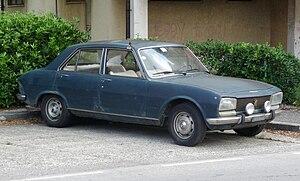 Guangzhou Peugeot Automobile Company - Image: 504 Peugeot 504