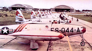 522d Special Operations Squadron - 522d Fighter-Escort Squadron F-84Gs, Bergstrom AFB, Texas, 1952
