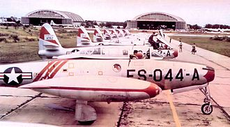 522d Special Operations Squadron - 522d Fighter-Escort Squadron F-84Gs, Bergstrom AFB, Texas, 1952