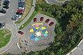 5 18 Graffiti Parkplatz Blick vom Pyramidenkogel 2016.JPG