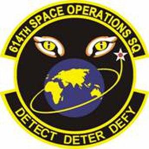 614th Space Operations Squadron - 614 SOPS Emblem