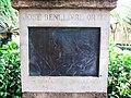 630 Casa Museu Benlliure (València), jardí, monument a J. Benlliure Ortiz, Peppino.jpg