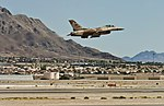 64th Aggressor Squadron takeoff (9576950031).jpg