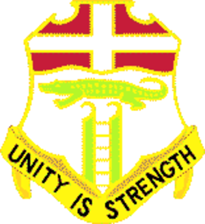 6th Infantry Regiment (United States) - Image: 6 Infantry Regiment DUI
