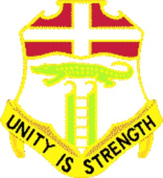 6th Infantry Regiment (United States) - Image: 6 Infantry Regiment DUI