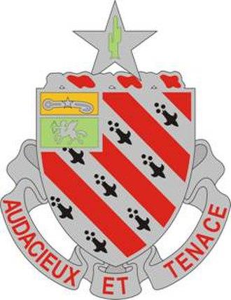 8th Field Artillery Regiment - Image: 8 FA Rgt DUI