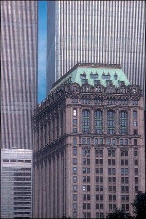 90 West Street - West Street Building before 9/11
