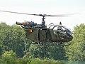 A-79 Sa.318C Alouette2 AF Belgium flying Kleine Brogel 2007 P1020492 (50852077103).jpg
