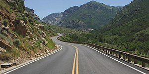 Humboldt-Toiyabe National Forest - Lamoille Canyon Scenic Byway