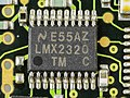 AEG Mobile Communication E-Plus PT-10 - subboard - National Semiconductor LMX2320-0379.jpg