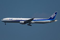 Boeing 777-300 der All Nippon Airways