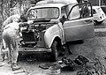 A 1967 Renault Fourgon van (R4L) getting major surgery (50823016312).jpg