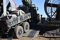 A 7-ton medium tactical vehicle replacement gets loaded onto a U.S. Navy landing craft, air cushion at Camp Pendleton, Calif., to be transported to San Clemente Island Feb. 12, 2014, during exercise Iron Fist 140212-M-ZH987-050.jpg