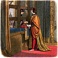 A Chronicle of England - Page 428 - Meeting of Edward IV and Louis XI at Pecquigny.jpg